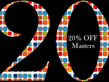 20% Off until End November