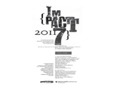 IMPACT 7:  International Multi-disciplinary Printmaking Conference