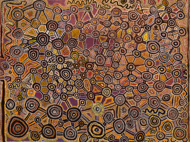 ABORIGINAL ART 'COMES HOME'