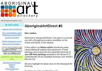 Aboriginal Art Direct #3