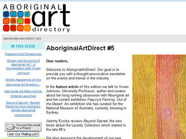 Aboriginal Art Direct #5: