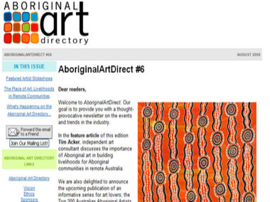 Aboriginal Art Direct #6: The Place of Art - Livelihoods in Remote Communities