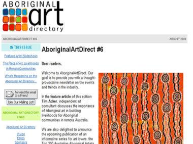 Aboriginal Art Direct #6: The Place of Art - Livelihoods in Remote Communities