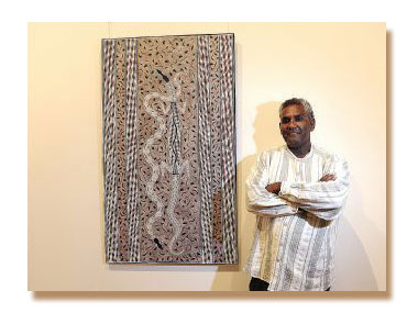 'Confined' Aboriginal art exhibition showing at the St Kilda Town Hall