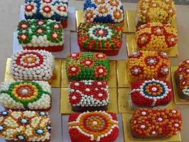 Aboriginal Art .. On a Cake!