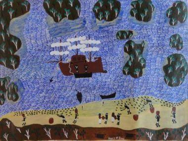 After 45,000 years, Aboriginal art is still evolving.