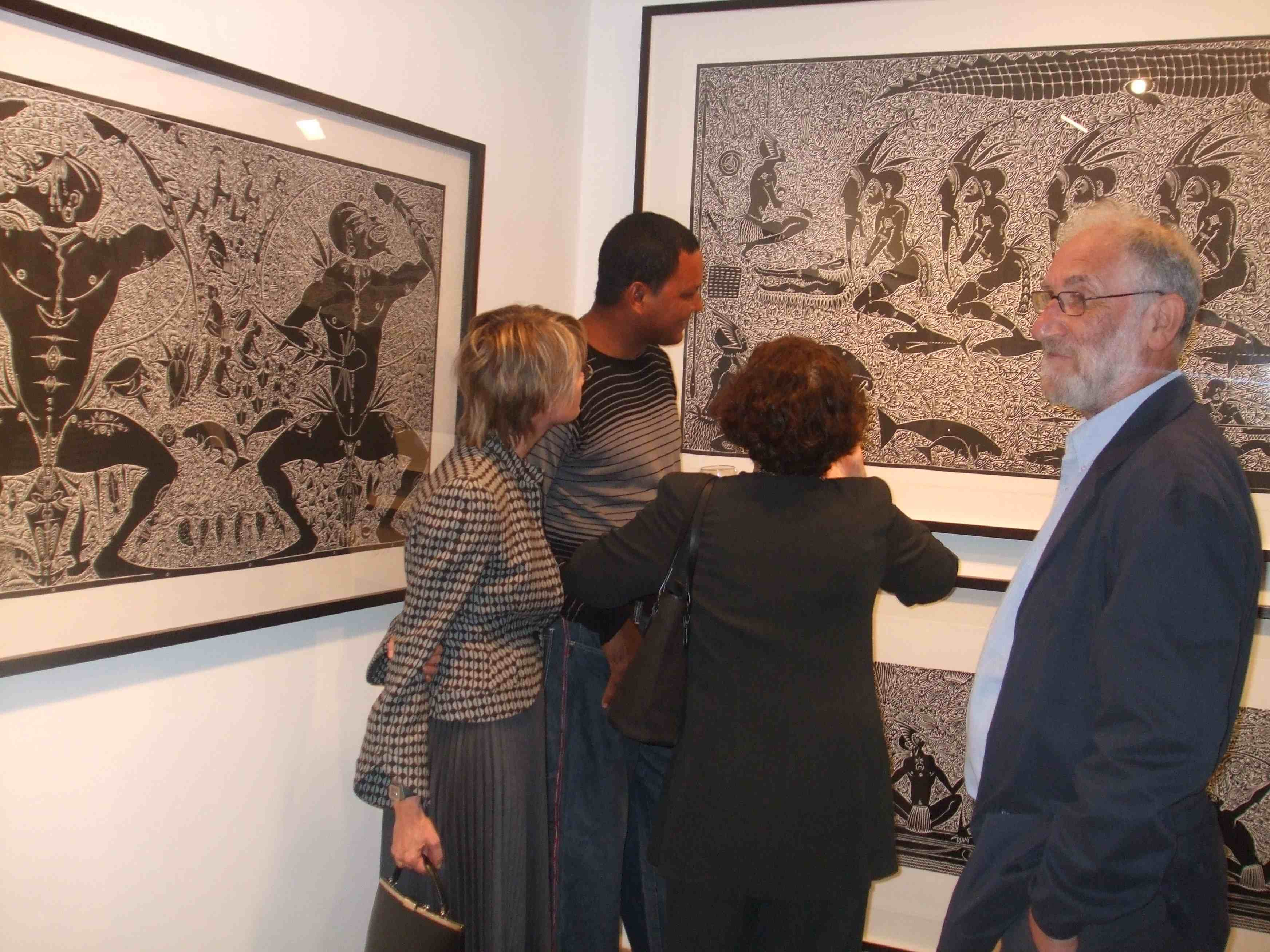 Alick Tipoti and Dennis Nona exhibit in Berlin and London