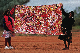 ANANGU ART BROUGHT TO BOOK