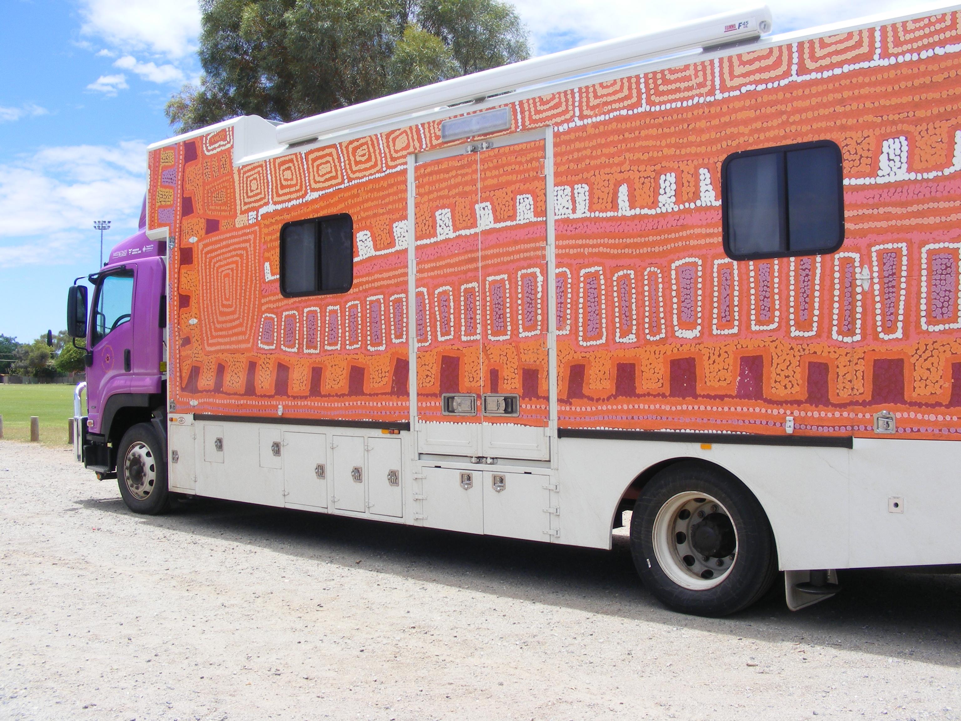 Western desert dialysis truck