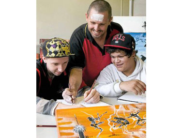 Art helps at-risk youths