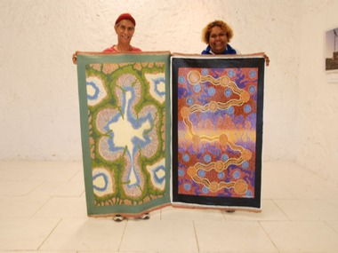 Aboriginal Art Exhibition to be held at Kidogo Arthouse, Fremantle, Sponsored by the City of Fremantle