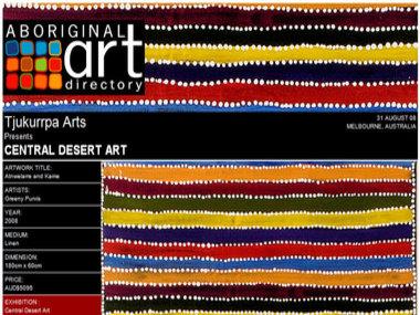 Central Desert Art, Melbourne Australia