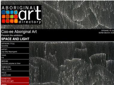 Coo-ee Aboriginal Art presents Space and Light, Bondi Beach Australia