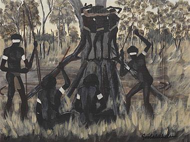 Aboriginal art dick francis