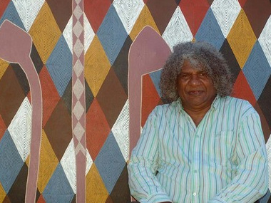 Digby Moran selected as finalist for Parliament of NSW Aboriginal Art Prize