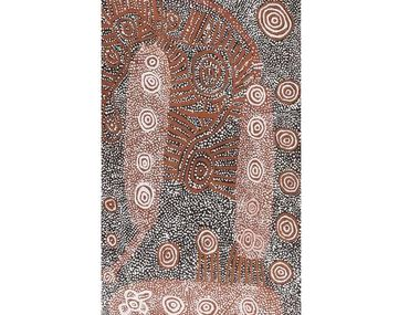 Early Papunya Boards Lead Landm