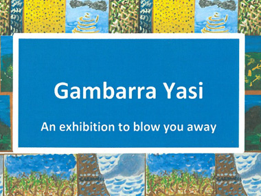 Gambarra Yasi (Cyclone Yasi) Exhibition