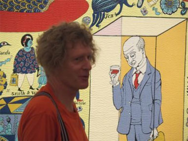 Grayson Perry Going Indigenous?