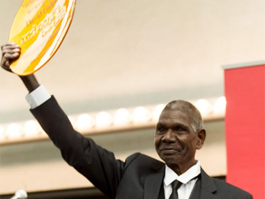 Gulpilil takes out the $50,000 Red Ochre Award