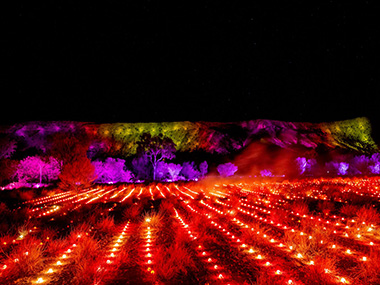 The Red Centre's Festival of Light