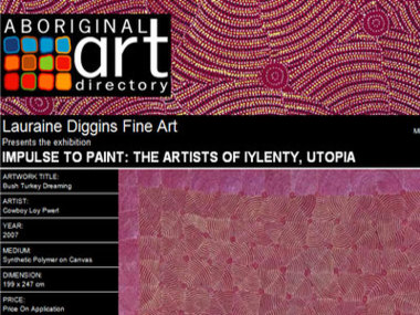 Impulse to Paint: The Artists of Iylenty Utopia