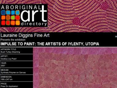 Impulse to Paint: The Artists of Iylenty Utopia