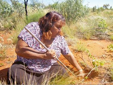 Indigenous artist wins Waterhouse art prize