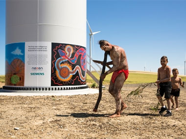 Local Aborigines Back SA Windfarm