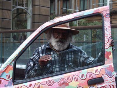 Michael Nelson Tjakamara in Sydney