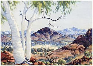 Namatjira and Mellor Shine at Deutscher and Hackett August 29 Auction