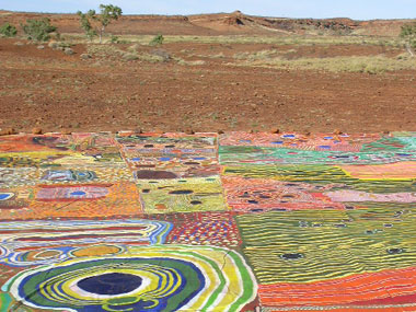 Ngurrara, The Great Sandy Desert Canvas