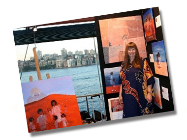 Nyree Reynolds Exhibits at the Sydney Opera House