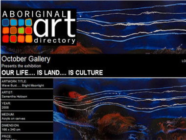 October Gallery presents Our Life.... is Land.... is Culture, London UK
