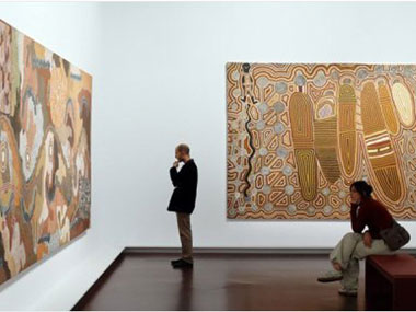 Parisians flock to new exhibit of Australian Aboriginal art
