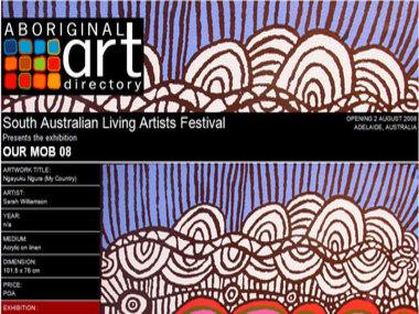 South Australian Living Artists Festival presents Our Mob 08, Adelaide Australia