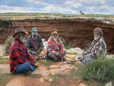 THE ABORIGINAL JOURNEY CONTINUES