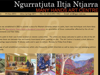 The Ngurratjuta Art Centre