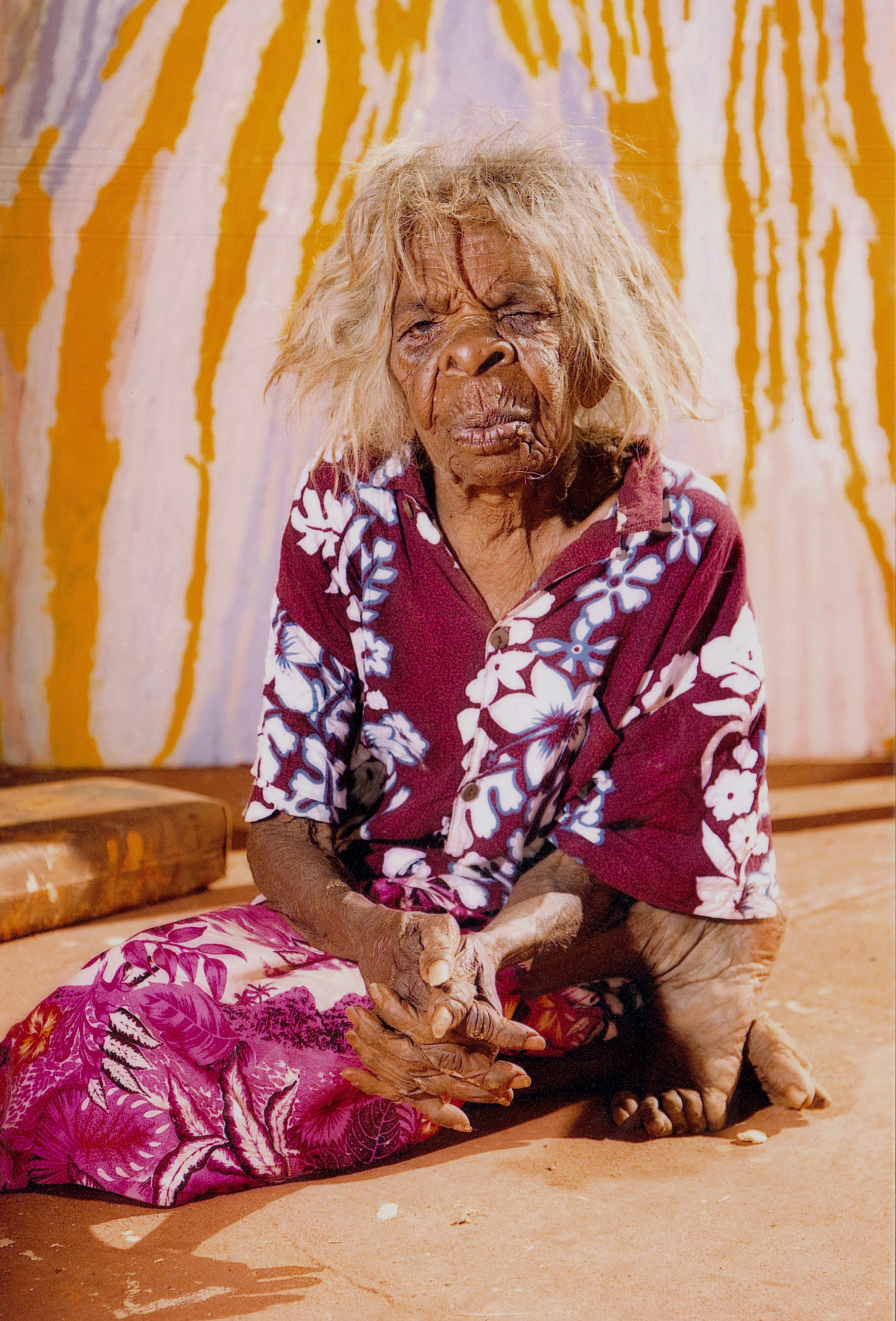 Western desert artist leaves behind record of women's ceremony
